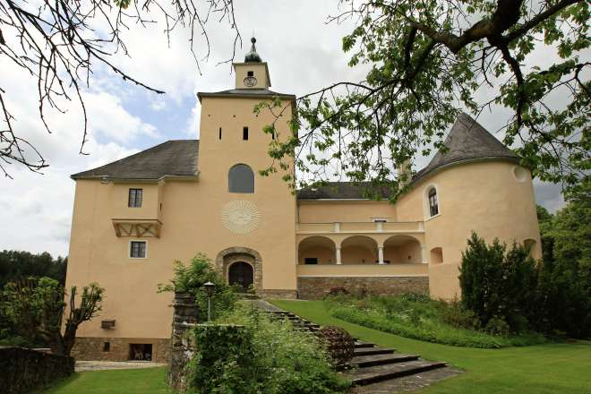 Castle in Carinthia near the lake Wörthersee