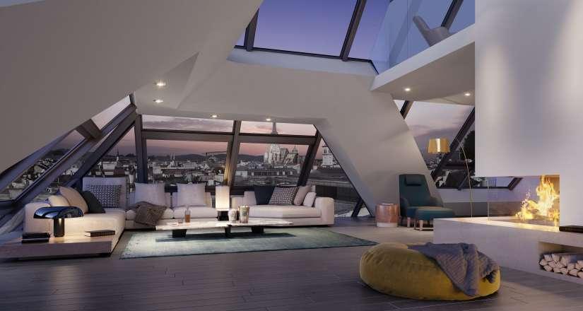 """""""Grand Kinsky"""" - Imperial Living im Dachgeschoss"""