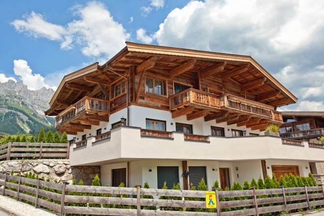 "Country home with fantastic views to the ""Wilder Kaiser"""