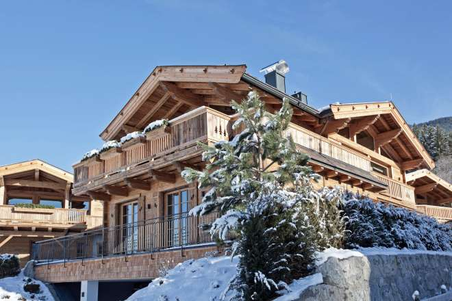 Chic alpine chalet - ready to move into with a view of the Wilder Kaiser