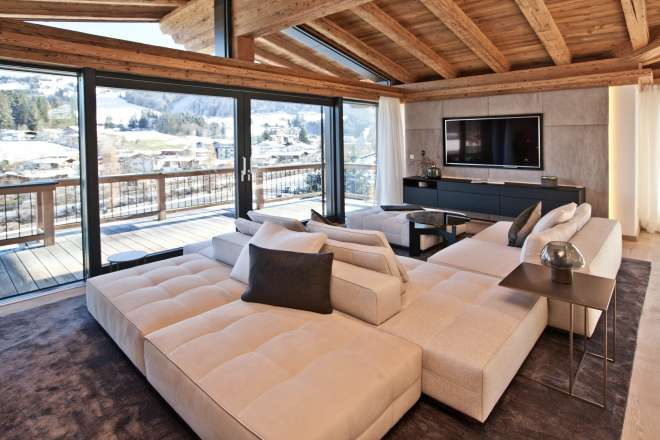 Exclusive panoramic apartments at the ski slope - Top 3