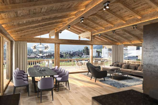 "Penthouse Living in den exklusiven ""Trinity Lodges 2.0"""