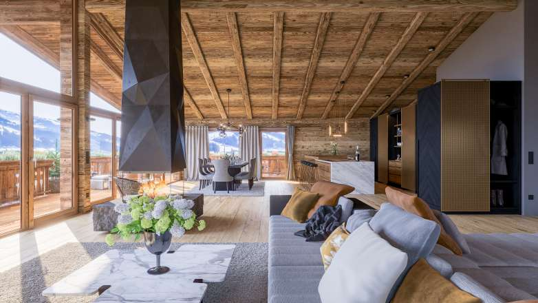 """Sonnberg Suites"" - Top 3: luxurious penthouse with fantastic views"