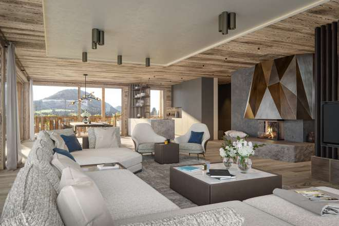 """Sonnberg Suites"" - Top 5: living spaces with irresistible charm"