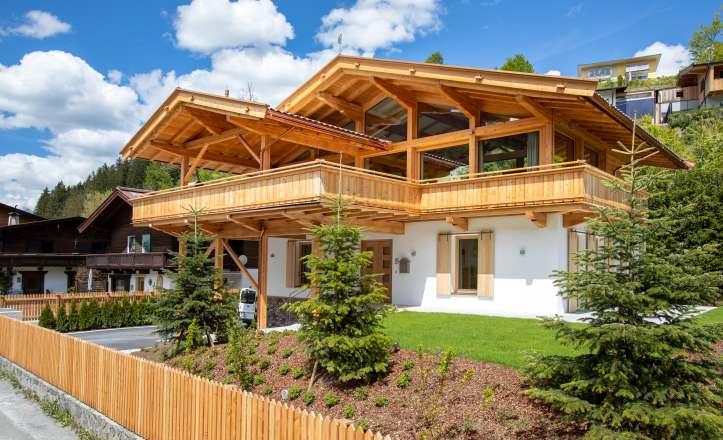 New built Tyrolean house